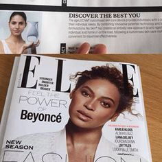 """""""ME"""" in the Media @ellemagazine 👏🏻😀 #theytalkaboutME #agelocME"""