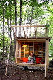 Relaxshacks.com: A tiny house/study pod for an NYU Professor….on wheels