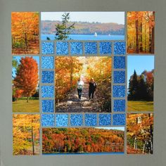 Page created by Karen Morley using Lea France Grid Stencil