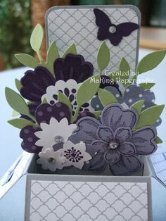 MaKing Papercrafts: Card in a Box