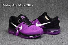 nike air max 2017 women's black and purple nz