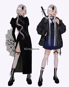Anime Oc, Female Character Design, Character Design Inspiration, Female Protagonist, Art Inspiration Drawing, Outfit Combinations, Character Outfits, Photo Illustration, Female Characters