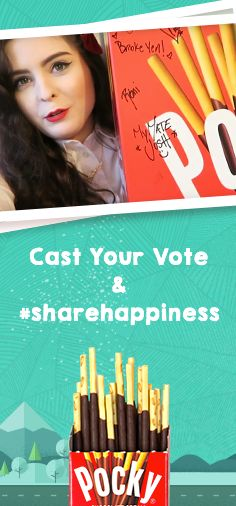 I just voted for Noelle to win $5,000 Foster Care to Success and you can too! Click to watch her video and share happiness with Pocky!  #sharehappiness