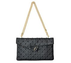 The Classic MILCK clutch with gold chain by Ela