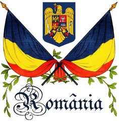 Flag and coat of arms of Romania Thursday Jun 26 Flag Day Romania 1 Decembrie, Bucharest Romania, National Symbols, Cultural Diversity, The Beautiful Country, Countries Of The World, Coat Of Arms, Winter Holidays, Word Art