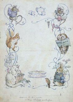 Children's Book Illustration - Helen Beatrix Potter