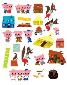 Joue avec Les Trois Petits Cochons- Milan