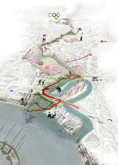 """Projekt """"Lea River Park""""...competitionline:"""
