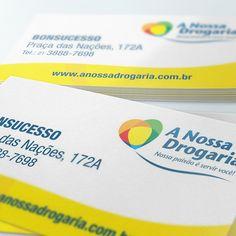 A Nossa Drogaria | Cartão de Visita