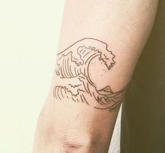 Wave Tattoo - Adriftis Surf Co.