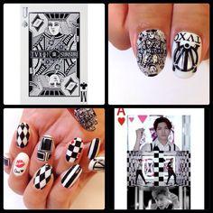 NAILS. I made #nail #nails #ネイル #かわいい #cute nail #TVXQ