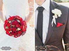 Czerwony bukiet / Red flowers