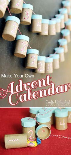Paper Mache Box Calendar.