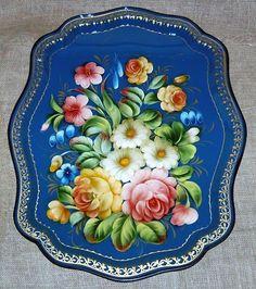 Zhostovo Handcrafted Russian Artwork.