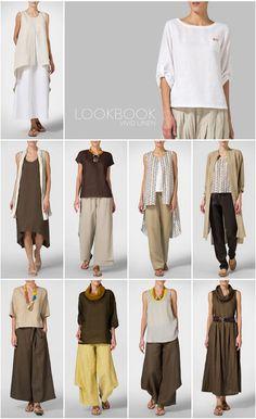 VIVID LINEN clothing - LOOKBOOK: