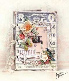 DT member call and a Sizzix card