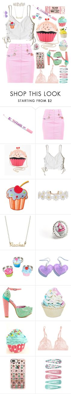 """Pour Some Sugar On Me"" by alexis-marie-burroughs ❤ liked on Polyvore featuring Moschino, Hollister Co., Humble Chic, cutekawaii, Iron Fist, Forever 21, La Perla and Casetify"
