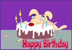 Funny Happy Birthday Animated Gifs Pictures And Images Free