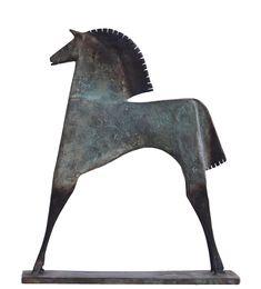 Caballo Polanto Horse Sculpture, Modern Sculpture, Bronze Sculpture, Sculptures Céramiques, Ceramic Animals, Equine Art, Horse Art, Wood Carving, Metal Art