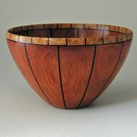 How to make segmented wood bowls   ehow, Segmented wood bowls are made from multiple blocks of wood in contrasting tones. Description from lathe.woodsworkingplan.com. I searched for this on bing.com/images