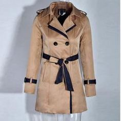Belted Wrest Women Trench Coat - Daisy Dress For Less - 5