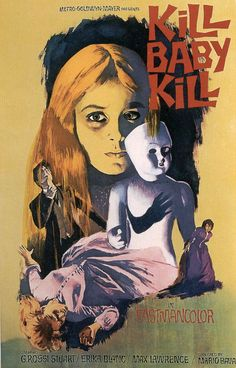 Kill Baby Kill (1966) directed by Mario Bava. http://www.imdb.com/title/tt0060794/