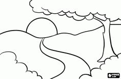 A Path Coloring Page