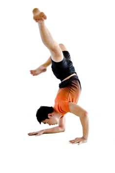 Half Forearm stand