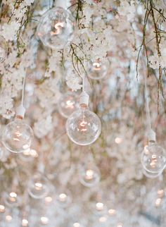 Modern lighting and florals: http://www.stylemepretty.com/2017/02/08/in-terms-of-gorgeous-this-napa-valley-wedding-takes-the-cake/ Photography: Jose Villa - http://josevilla.com/