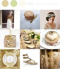 inspiration board #60: grecian goddess