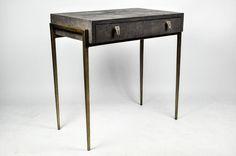 Ginger Brown France,galuchat,shagreen furniture | Side tables