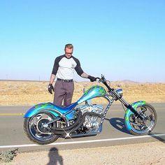 The best chopper ever built. Jesse James Motorcycles, Custom Motorcycles, Chopper Motorcycle, Bobber Chopper, Custom Choppers For Sale, Road Glide Custom, West Coast Choppers, Motorcycle Camping, Biker