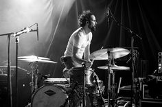 Ronnie Vannucci Jr. from The Killers. Gets a lot of sound from a small kit. Kinda like John Densmore from The Doors