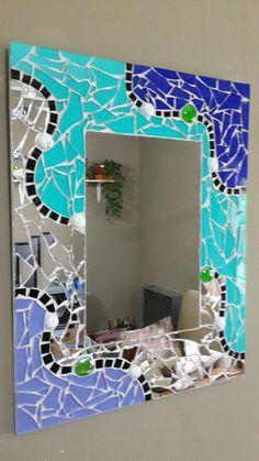 Mosaic Mirrors, Mosaic Wall, Mosaic Glass, Modern Art Paintings, Mosaic Projects, Decorative Tile, Lamp Design, Decoration, Mosaics