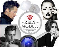Photo-shoot here at our studio 26 May.  6 professional photo's yours to keep for only £60. Build your portfolio, make it happen! Call 020 8881 5709 #model #modelling #fashionmodelling #newlook #newlookmodelling #fashion #style #fashionblogger #modelblogger #modelblog #modellingadvice #malemodel #teenmodel #plussize #petitemodel #luxuryfashion #luxuryjobs #bondstreet #london #londonfashion #glamour #harrods #selfridges #westfield #menswear #sexy #ladieswear #womenswear #salesassistant #girls…