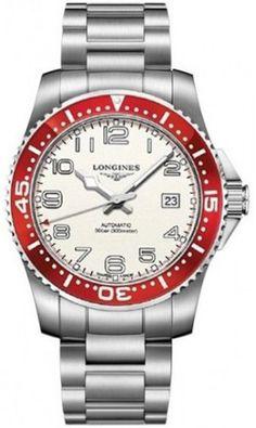 L3.695.4.19.6, L36954196, Longines hydroconquest watch, mens