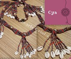 Collar Mazo de Oya  #oya #yansa #orishas #atributos #yoruba #santos #madrid #religion #artesanía