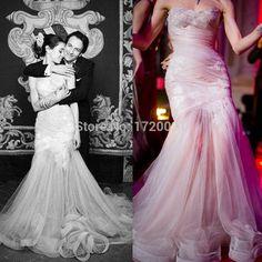 Купить товар2015 свадебные платья Maison Yeya свадебные платья милая декольте аппликации складки русалка длиной до пола свадебные платья в категории Свадебные платьяна AliExpress.                 Платье размер диаграммы         Плюс размер платья размер диаграммы       Шифон           Тафта