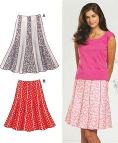 Kwik Sew Sewing Pattern Misses' Skirts Kwik Sew Patterns, Vintage Sewing Patterns, Dress Making Patterns, Skirt Patterns, Diy Dress, Dress Ideas, Altering Clothes, Dance Dresses, Fabric Design