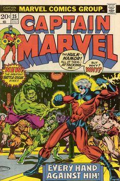Captain Marvel # 25 by Jim Starlin & Joe Sinnott