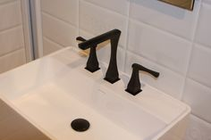 Hastings own Chelsea Faucet, shown in the Matte Black finish