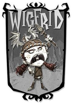 Wigfrid | Don't Starve Together Character Portraits