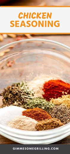 Grilling Baking or Smoked Chicken? Add this quick and easy chicken seasoning to your chicken to give it amazing flavor. It's so easy to make with pantry staples for the perfect blend of seasonings. Easy Chicken Seasoning, Homemade Fajita Seasoning, Homemade Seasonings, Vegetable Seasoning, Jelly Recipes, Top Recipes, Yummy Recipes, Dinner Recipes, Grilled Chicken Recipes