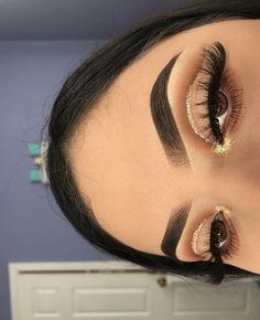 (notitle) - ↬ make up - Eye-Makeup Makeup Eye Looks, Eye Makeup Art, Cute Makeup, Gorgeous Makeup, Pretty Makeup, Skin Makeup, Eyeshadow Makeup, Hooded Eye Makeup, Prom Makeup