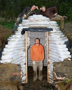 Building with Earthbags Root Cellar