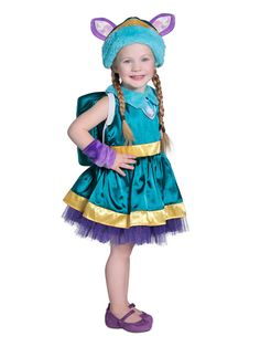 Paw Patrol Toddler Girls Everest Deluxe Costume