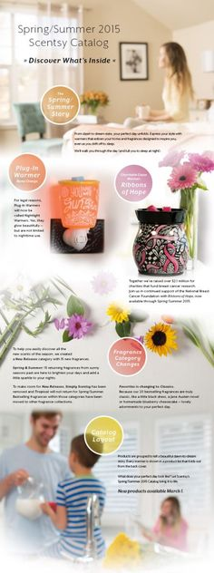 #Scentsy Spring Summer #2015 #Catalog coming soon! #spring #Easter #candles #products #trending #iamwickless