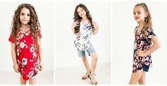 Girls Floral Criss Cross Top  So cute for Spring and Summer, this is a must have! LOVE!