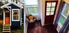 Thirteen Year-Old Sicily Kolbeck's Self-Built Tiny Home is Complete! | Inhabitots