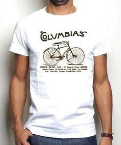 """""""Columbias Boston Cycle"""" tee"""